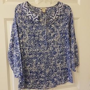 Lucky Brand blouse size large